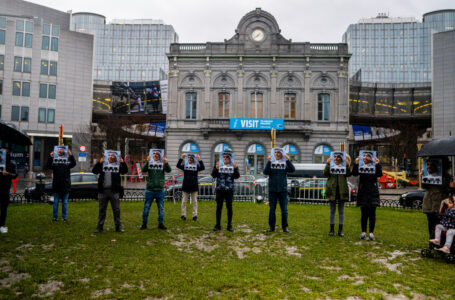 In Solidarity with Ahmed Mansour: IFRD Organizes A Solidarity Manifesto in front of the European Parliament
